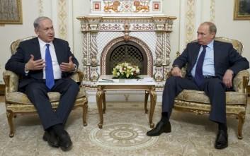 Για την «ιρανική επιθετικότητα» θα μιλήσει ο Νετανιάχου στον Πούτιν