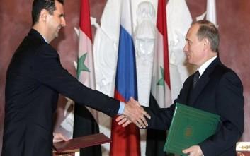 Συρία Μόσχα Πούτιν Μπασάρ Αλ Ασάντ