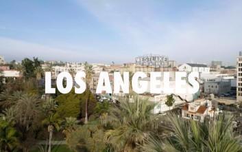 Εναέρια περιήγηση στο L.A.