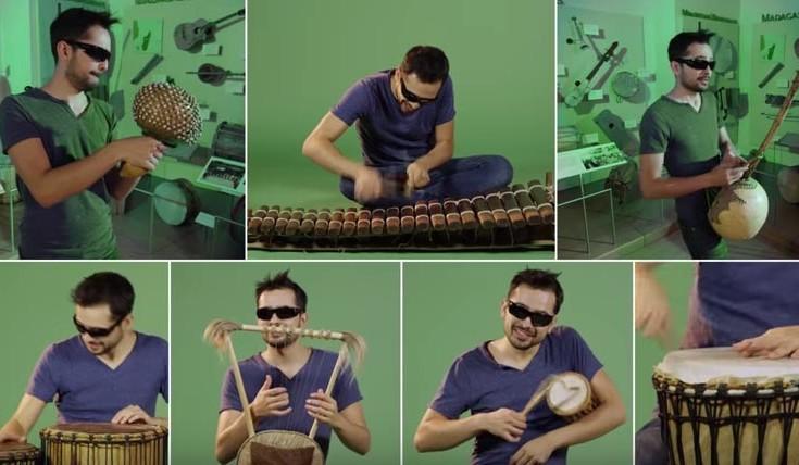 Η Μισιρλού με 90 διαφορετικά μουσικά όργανα