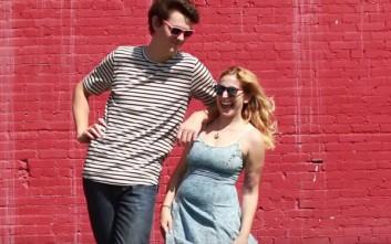 Η ζωή μιας γυναίκας δίπλα σε ένα πολύ ψηλό άντρα