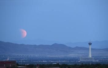 Το μαγευτικό θέαμα της «Ματωμένης Σελήνης»