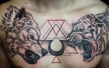 Τατουάζ πραγματικά έργα τέχνης