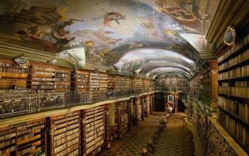Μία βιβλιοθήκη πραγματικό αριστούργημα