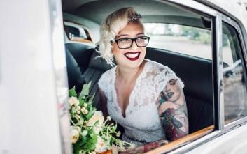 Υπέροχες νύφες με τατουάζ