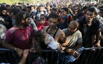 Στην Κροατία εισήλθαν μέχρι σήμερα 44.000 πρόσφυγες