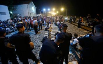 Ανεστάλη η κίνηση των επιβατικών σιδηροδρομικών συρμών από την Κροατία