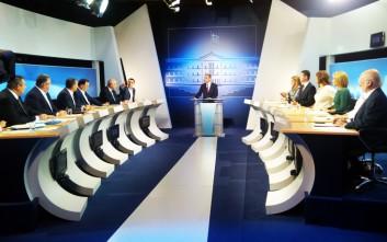 Τι ερωτήσεις έκαναν οι δημοσιογράφοι στους πολιτικούς αρχηγούς