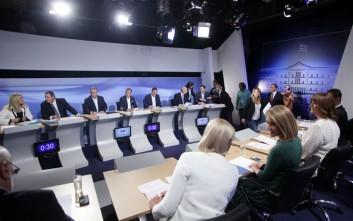 Τι απάντησαν οι πολιτικοί αρχηγοί για μεταναστευτική πολιτική και προσφυγικό