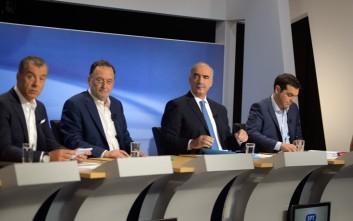 Οι τοποθετήσεις των πολιτικών αρχηγών στο debate