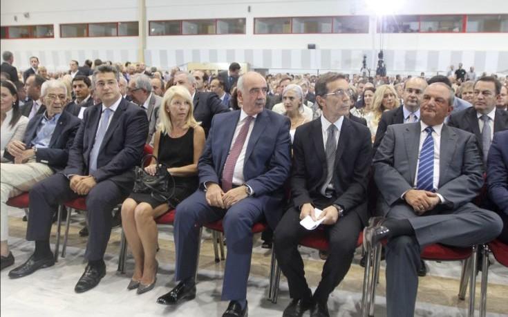 Φωτογραφίες από την ομιλία του Μεϊμαράκη στη ΔΕΘ