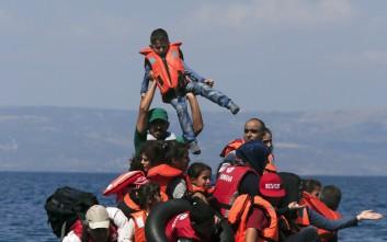 Πάνω από μισό εκατομμύριο πρόσφυγες και μετανάστες διέσχισαν τη Μεσόγειο το 2015