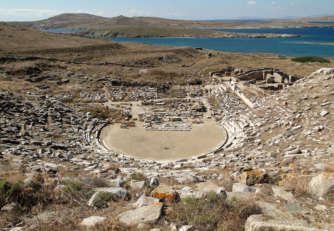 Αρχαίο Θέατρο της Δήλου