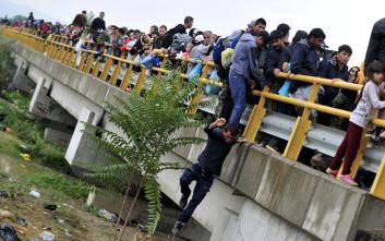 Πάνω από 7.000 μετανάστες από την Ελλάδα στην ΠΓΔΜ σε μία μέρα