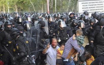 Άγριες συγκρούσεις και πολυβόλα κατά παιδιών από την Ουγγαρία