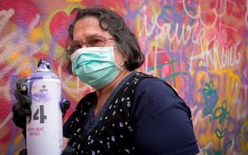 Γνωρίστε τις γιαγιάδες που κάνουν… γκράφιτι