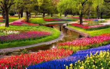 Ταξίδι στον πιο πολύχρωμο κήπο του πλανήτη