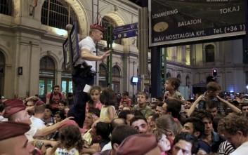 Έκλεισε σιδηροδρομικός σταθμός στη Βουδαπέστη
