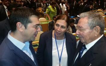 Ο Κάστρο κάλεσε τον Τσίπρα στην Κούβα
