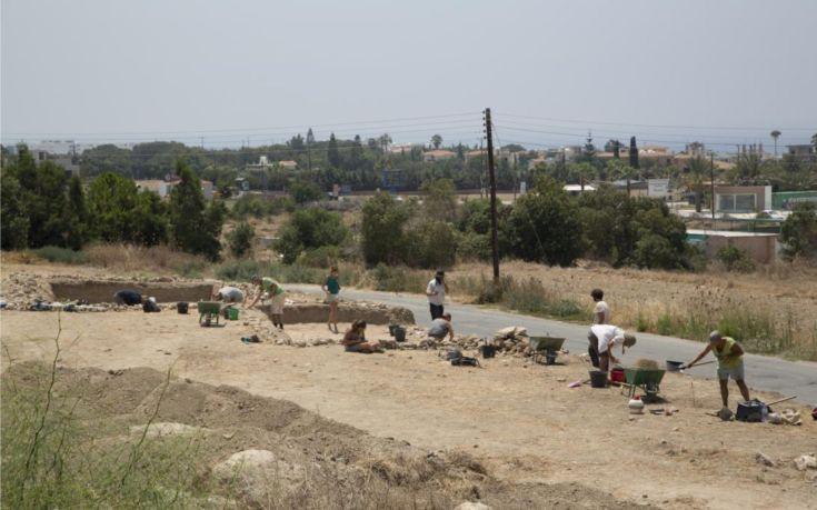 Σημαντικά ευρήματα έφερε στο φως αρχαιολογική σκαπάνη στην Κύπρο