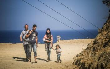 Στη Λέσβο ο ύπατος αρμοστής του ΟΗΕ για τους πρόσφυγες