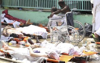 Εκατόμβη νεκρών από το ποδοπάτημα στη Μέκκα