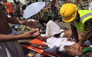 Ξεπέρασαν τους 300 οι νεκροί στη Μέκκα