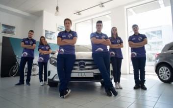 Η Mercedes χορηγός της ελληνικής ομάδας Team Reset