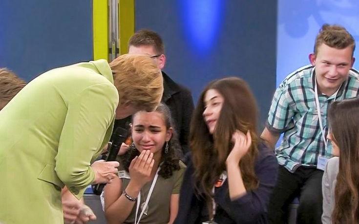 Το κορίτσι που έκλαψε μπροστά στη Μέρκελ θα μείνει στη Γερμανία