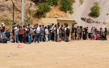 Σταθερές οι ροές μεταναστών και προσφύγων στo βόρειο Αιγαίο