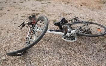 Ποδηλάτης τραυματίστηκε θανάσιμα σε τροχαίο στην Έδεσσα