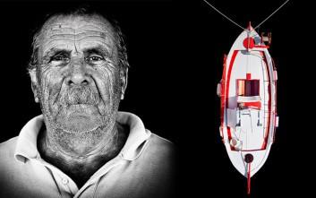 Έλληνες ψαράδες μπροστά από το φακό