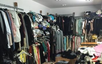 Χιλιάδες ρούχα «μαϊμού» σε καταστήματα της Θεσσαλονίκης