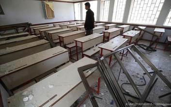 Οι συρράξεις εμποδίζουν 13 εκατ. παιδιά να πάνε σχολείο