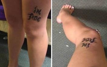 Το τατουάζ της κατάθλιψης