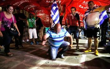 Το γλέντησαν με την ψυχή τους οι ψηφοφόροι του ΣΥΡΙΖΑ