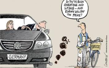 Το σκίτσο των New York Times για την Volkswagen έχει «άρωμα» Ελλάδας