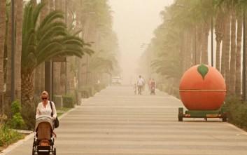 «Πνίγεται» από τη σκόνη η Κύπρος