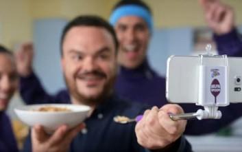Ήρθε το κουτάλι για selfies!