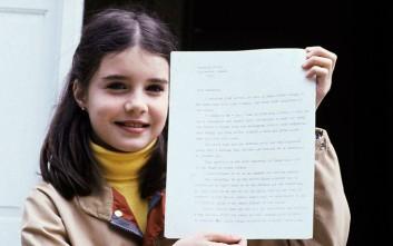 Η ιστορία της δεκάχρονης Αμερικανίδας που έστειλε επιστολή στον ηγέτη της ΕΣΣΔ