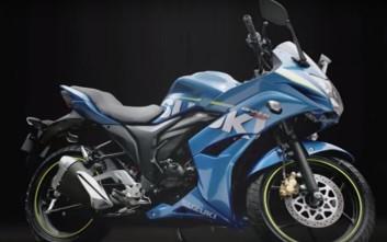 Η Suzuki μας συστήνει την πιο sport μοτοσικλέτα μικρού κυβισμού