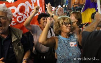 Χοροί, γέλια και πανηγυρισμοί στον ΣΥΡΙΖΑ