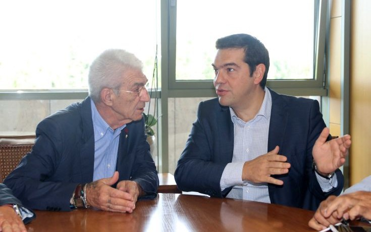 Στην Αθήνα για να συναντηθεί με τον πρωθυπουργό ο Μπουτάρης