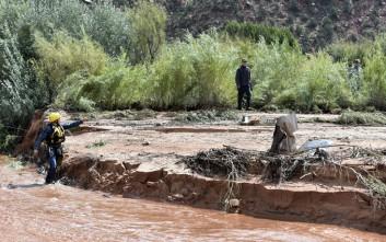 Τους δεκαπέντε έφτασαν οι νεκροί από τις πλημμύρες στη Γιούτα