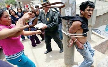 Στο Περού πολίτες παίρνουν το νόμο στα χέρια τους