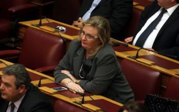 Ξουλίδου: Δεν απαίτησα ποτέ υπουργείο