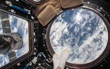Η άλλη όψη του Διεθνούς Διαστημικού Σταθμού