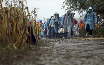 Η Σλοβενία καταγγέλλει την Κροατία για την προώθηση προσφύγων