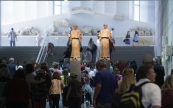Αυξημένος ο αριθμός των επισκεπτών στα μουσεία