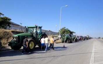 Συγκέντρωση διαμαρτυρίας αγροτών στο Αίγιο